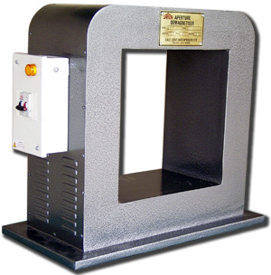 Apparture type or window type Demagnetizer