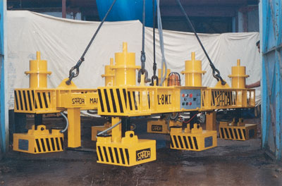 EPM Plate Handling System. Capacity - 8 Ton. Upto 12 M